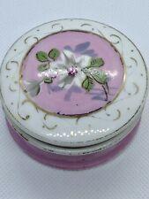 Victorian Era Salve Porcelain Box