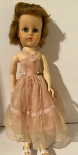 "Rare 1950s Valentine 18"" walker Doll 18 Vw Sweet Sue type Hp"