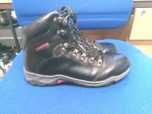 Campri black leather walking boots size 5.5/39