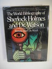 De Waal WORLD BIBLIOGRAPHY OF SHERLOCK HOLMES 1978 HCDJ