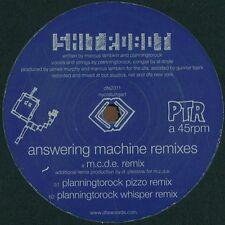 """SHIT ROBOT - Answering Máquina( M. C. D. E. Remix) dfa2311, 12"""" Vinilo, NEW"""