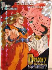 RARE CARTE DRAGON BALL Z - CARDDASS JAPAN 1995 CARD SERIES PART 28