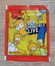 Panini 1 Tüte The Simpsons Springfield Live Bustina Pack Sobre Pochette Packet