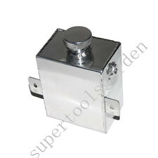 Aluminum Coolant Expansion Overflow Water Tank 1.2L Universal Polished+Free Cap