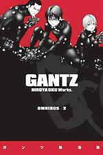 Gantz Omnibus Volume 2 Manga GN Hiroya Oku Book Two Dark Horse Anime New Mint
