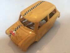 RALLY MINI COOPER VINTAGE OLD SCALEXTRIC MODEL TOY SLOT RACING CAR ZT