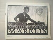 Catalogue Marklin 1924 Katalog D1 Reprint catalog