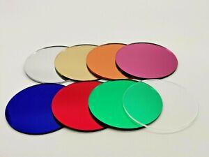 Clear Mirror Plastic Circles cut to size Wall Decor Laser cut Plastic Discs