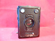 Certo Doppel-Box  Boxkamera 6 x 9 cm ; 4,5 x 6 cm