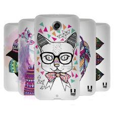 Cover e custodie Head Case Designs Per Nexus 6 in silicone/gel/gomma per cellulari e palmari
