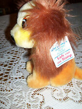 Lady And The Tramp Plush Walt Disney Film Productions Stuffed Animal Dog 6""