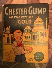 BLB Vintage Big Little Book Chester Gump City of Gold #1146