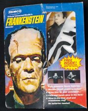 "1980 Remco Universal Monster 9"" FRANKENSTEIN w/ Box Manual + Tag + Ring Figure"