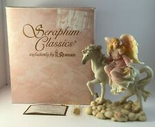 "Seraphim Classics 1997 ""Simone Nature's Own"" #78084 Angel Figurine - by Roman"