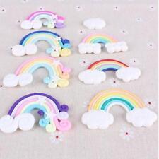 9pcs Rainbow Clouds Party Decor Children's Birthday Baby Shower Cake Topper 8C