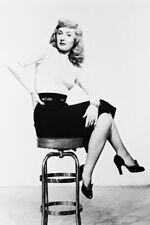 Double Indemnity Barbara Stanwyck 24X36 Poster On Stool