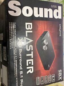 Creative Sound Blaster X-Fi Surround 5.1 Pro USB Sound Card v2