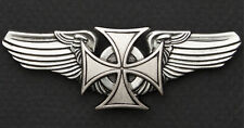 IRON CROSS / MALTESE CROSS FOR GERMAN HELMETS. STICK ON HELMET EMBLEM