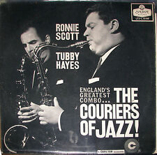 "Ronnie Scott & Tubby Hayes Couriers of Jazz 1959 LP 12""33rpm UK rare vinyl (vg-)"