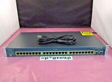 WS-C2950SX-24 - Cisco Catalyst 2950 24-Port 10/100/1000Base-SX Switch w/ Ears