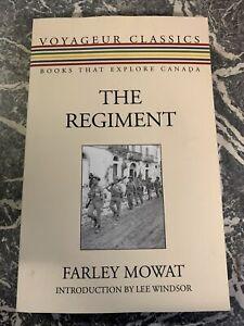 VINTAGE BOOK WAR WW2 PAPERBACK THE REGIMENT CANADA MOWAT 10