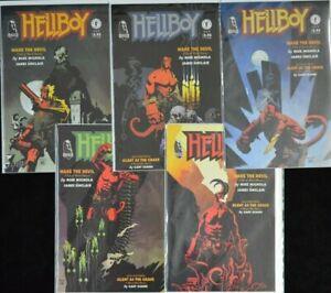 Dark Horse HELLBOY: WAKE THE DEVIL #1-5 (NM) - Complete Set