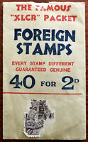 "The Famous ""XLCR"" Packet. Foreign Stamps. Vintage Packet"