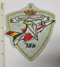 BELGIAN AIR FORCE 76B FIGHTER TRAINING PROMOTION PATCH Original Vintage