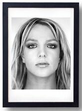 Britney Spears Photo Portrait by Martin Schoeller - Framed print - 60x80 Cm.
