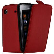 Housse Etui de Protection Couleur Rouge pour Samsung Galaxy S i9003