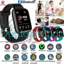 Smart Watch Bracelet Heart Rate Blood Pressure Monitor Fitness Tracker ID116Plus