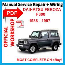 buy daihatsu car service repair manuals ebay rh ebay co uk 1993 daihatsu feroza workshop manual daihatsu sportrak service manual
