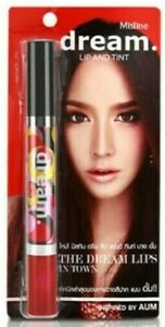 Mistine Dream Lip Tint 2in1  Red Gloss Shimmer by Aum 4.7g ( Sexy Red #No.03 )