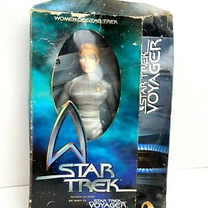 """Playmates Women of Star Trek Voyager Seven of Nine 12"""" Action Figure Doll In BOX"""