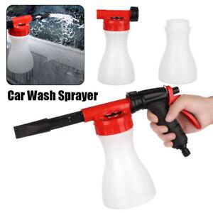 Multifunctional Foam Spray Gun Hose Nozzle Car Wash Sprayer Garden Water Guns ~~