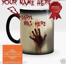 WALKING DEAD PERSONALIZED ZOMBIE Magic Color Change Coffee Mug Christmas USA