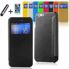 Unbranded/Generic Leather Matte Mobile Phone Cases, Covers & Skins for Apple