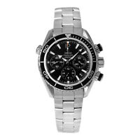 Omega Men's Seamaster Planet Ocean  Black Dial Silver Metal Watch 22230385001001