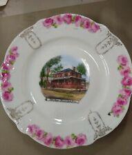 Vintage Shenandoah Iowa Plate Elk's Home Made In Germany For Mentser Bros
