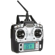US Duable Flysky FS-T6 2.4GHz 6CH Mode 2 Transmitter W/Receiver R6-B for RC B2H7