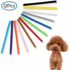 12pc/Set Whelping Puppy Pet Dog Id Identification Bands Kitten Cat Collar Belts