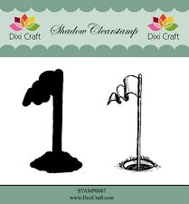 Dixi Crafts Clearstamp Stamp GOLF 2pcs DCSTAMP0087