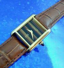 Mujer Must de Cartier Tank Cuerda Manual Reloj Pulsera,Todos los Servicios con /