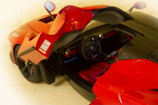 LaFerrari 1/8 scale, set of service stickers 46 pieces. High-resolution printing
