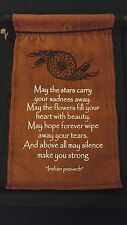 "Cloth Inspirational Wall Hanging Scroll ""May The Stars Carry Your Sadness Away"""
