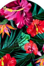 20 water slide nail art manicure Hibiscus  full nail wrap trending