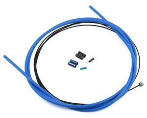Box Components Concentric Nano Alloy Linear Cable Housing (Blue)