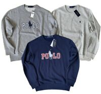NWT Polo Ralph Lauren Men's Fleece Pullover Sweatshirt Sweater Outerwear Hoodie