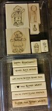 Stampin' Up Stamp Sets BEARY BEST FRIENDS & BEARY NICE WISHES Build-A-Bear Lot