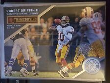 2013 Panini Totally Certified Thanksgiving Day #52 Robert Griffin III NM-Mint